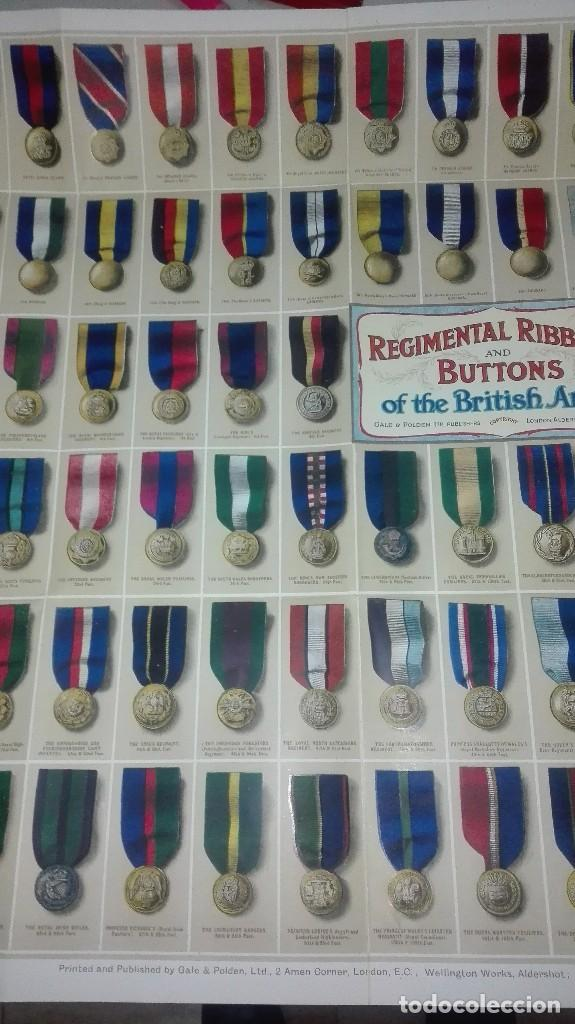 Militaria: REGIMENTAL RIBBONS & BUTTONS OF THE BRITISH ARMY. 1914. - Foto 4 - 186272875