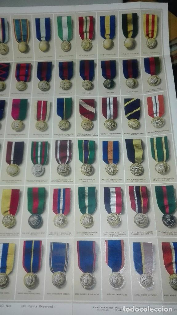 Militaria: REGIMENTAL RIBBONS & BUTTONS OF THE BRITISH ARMY. 1914. - Foto 7 - 186272875