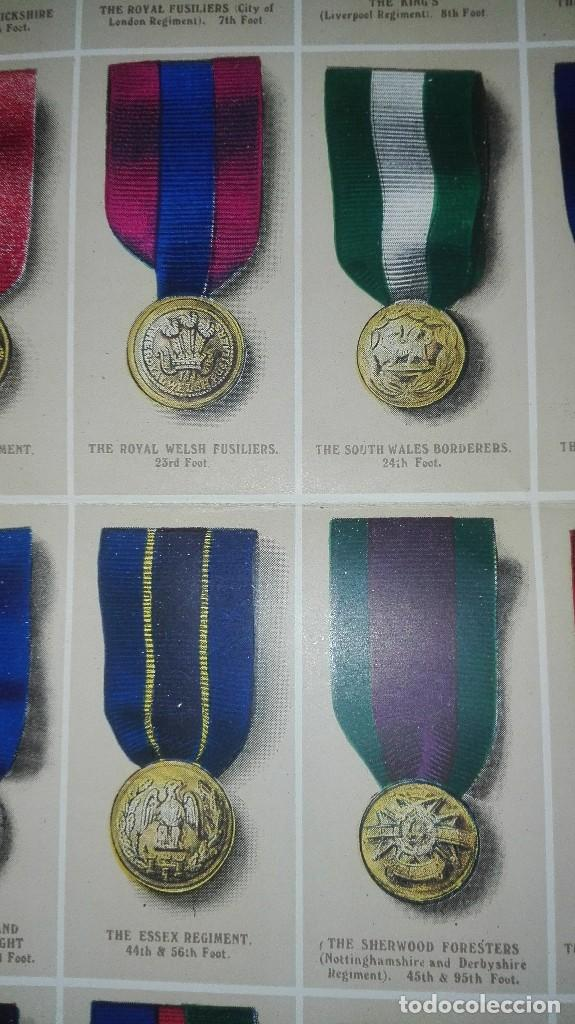 Militaria: REGIMENTAL RIBBONS & BUTTONS OF THE BRITISH ARMY. 1914. - Foto 9 - 186272875