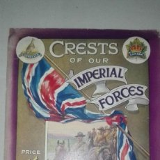 Militaria: CREST OF OUR IMPERIAL FORCES. 1914.. Lote 186273428