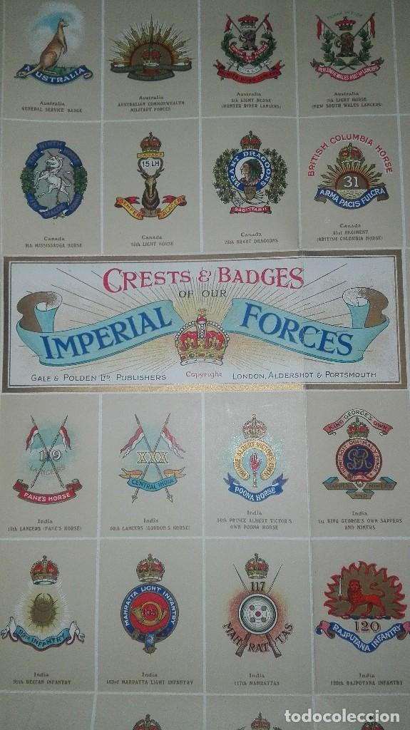 Militaria: CREST OF OUR IMPERIAL FORCES. 1914. - Foto 8 - 186273428