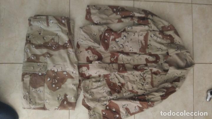 UNIFORME US ARMY DESERT BATTLE DRESS CAMUFLAJE ARIDO GUERRA DEL GOLFO (Militar - Uniformes Extranjeros )