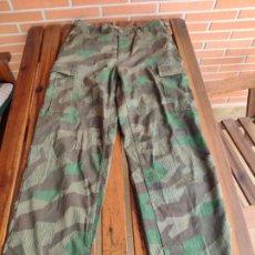 Militaria: PANTALÓN ALEMAN PATRÓN CAMUFLAJE SPLINTER ( REPRODUCCIÓN). Lote 188815993