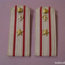 Militaria: GALONES DEL MAYOR MEDICO DEL EJERCITO SOVIÉTICO. CAMISA DE GALA.. Lote 188831420