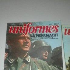 Militaria: LA WEHRMACHT EMBLEMAS DISTINTIVOS Y EQUIPO 2 TOMOS.. Lote 189237448