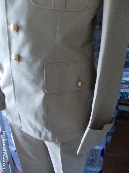 Militaria: Uniforme militar Francés pantalón y chaqueta - Foto 2 - 189468322