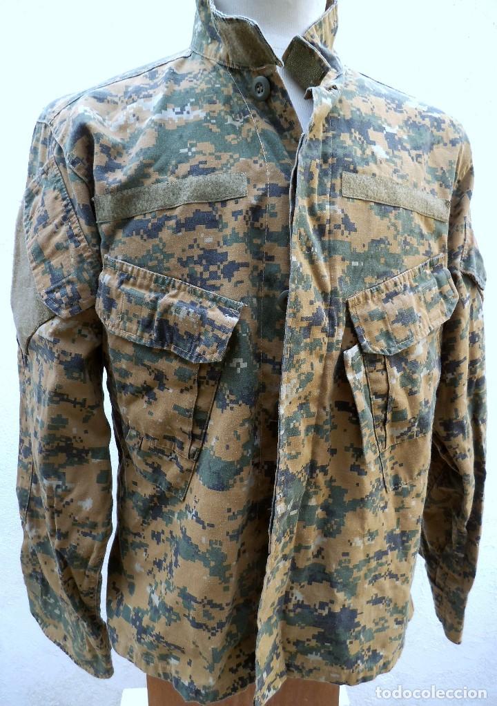 UNIFORME MIMETIZADO POSIBLEMENTE AMERICANO .CAMISOLA (Militar - Uniformes Internacionales)