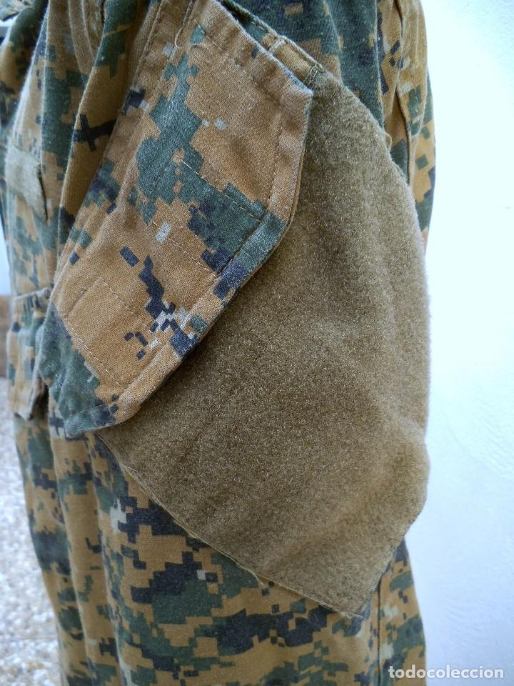 Militaria: Uniforme mimetizado posiblemente americano .Camisola - Foto 2 - 189879343