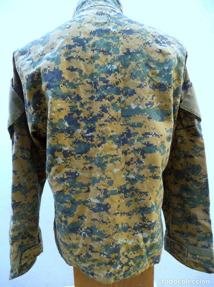 Militaria: Uniforme mimetizado posiblemente americano .Camisola - Foto 3 - 189879343