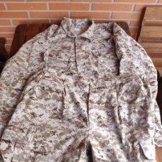 Militaria: UNIFORME PIXELADO ÁRIDO ESTADOS UNIDOS MARINES TALLA GRANDE. Lote 190078382