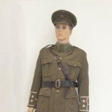Militaria: EXCEPCIONAL UNIFORME COMPLETO DE OFICIAL BRITANICO. PRIMERA GUERRA MUNDIAL. MUY RARA REPLICA. 1917. Lote 190210631