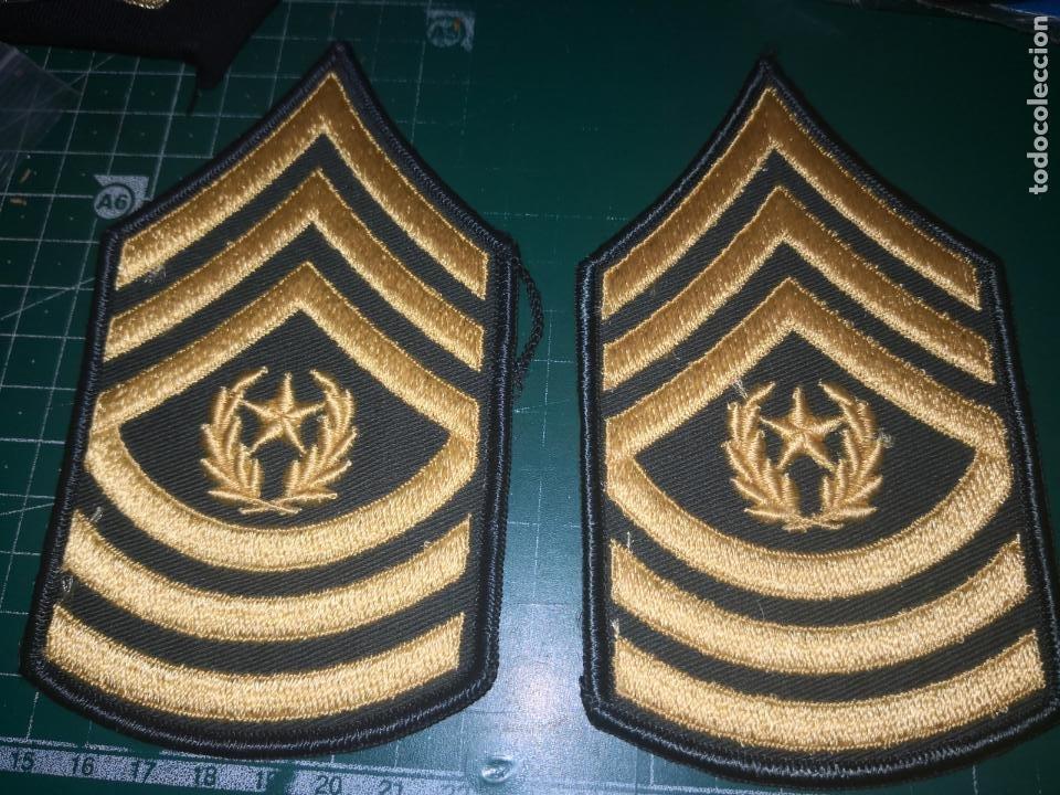 US ARMY. PAREJA DE GALONES DEL US ARMY (Militar - Uniformes Internacionales)
