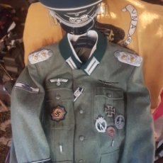 Militaria: ESPECTACULAR UNIFORME DE CORONEL DEL TERCER REICH.REPLICA. Lote 190796521