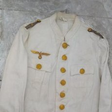 Militaria: ALEMANIA 2ª GUERRA UNIFORME DE VERANO DE OFICIAL DE LA KRIEGSMARINE. Lote 191251525