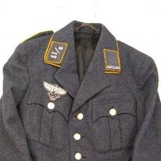 Militaria: ALEMANIA 2ª GUERRA, UNIFORME DE DLV, CHAQUETA Y GORRA. Lote 191394422