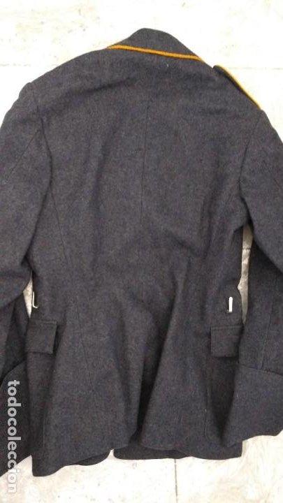 Militaria: Alemania 2ª guerra, Uniforme de DLV, chaqueta y gorra - Foto 2 - 191394422