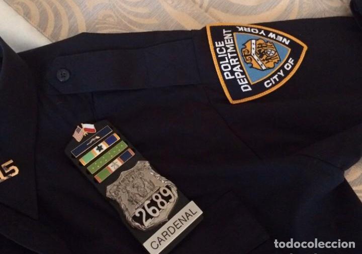 Militaria: Uniforme NYPD policia Nueva York original - Foto 2 - 191743083