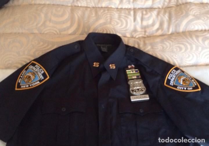 UNIFORME NYPD POLICIA NUEVA YORK ORIGINAL (Militar - Uniformes Extranjeros )