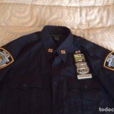 Militaria: UNIFORME NYPD POLICIA NUEVA YORK ORIGINAL. Lote 191743083