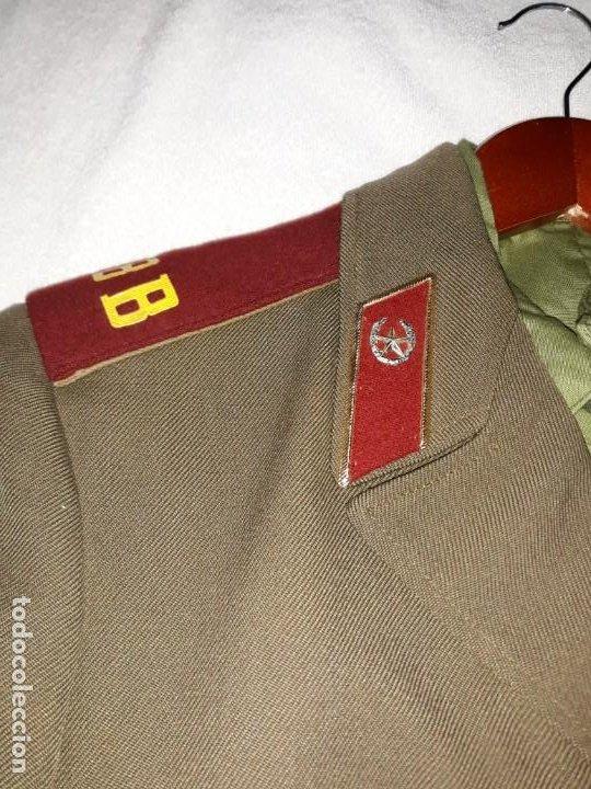 UNIFORME DE TROPAS INTERNAS DE SOLDADO DE LA UNION SOVIETICA. (Militar - Uniformes Internacionales)
