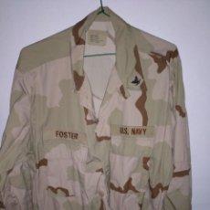 Militaria: GUERRERA DE CAMUFLAJE TRES COLORES DEL EJÉRCITO DE LOS EEUU. Lote 222306581