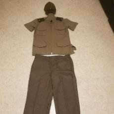Militaria: CUBA UNIFORME DIARO FUERZAS ARMADAS GRADO MAYOR CON GORRA. Lote 192658397