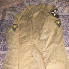 Militaria: CAMISA MANGA LARGA USA. Lote 193378283