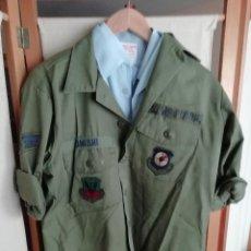Militaria: CAMISA DE FAENA HBT US AIR FORCE (FUERZA AÉREA DE ESTDOS UNIDOS). Lote 194224828