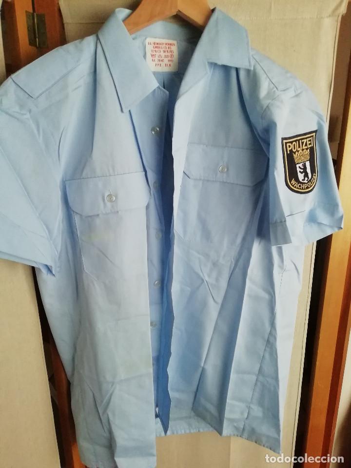 CAMISA POLICÍA ALEMANIA (Militar - Uniformes Extranjeros )