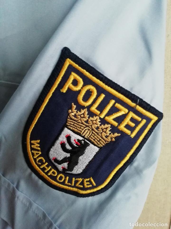 Militaria: Camisa policía Alemania - Foto 2 - 194225272