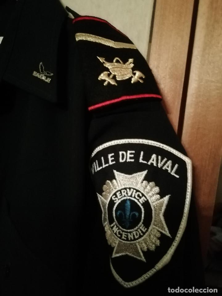 Militaria: Camisa policía Canadá (Quebec - Canadá) - Foto 2 - 194226408