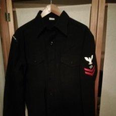Militaria: CAMISA SUBOFICIAL DE 2NDA CLASE - MARINA DE ESTADOS UNIDOS. Lote 194227628