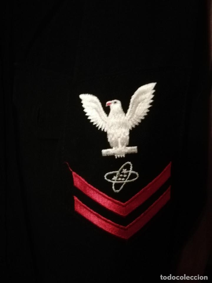 Militaria: Camisa suboficial de 2nda clase - Marina de Estados Unidos - Foto 2 - 194227628