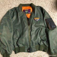 Militaria: CAZADORA UNIFORME CON EMBLEMA AIR PILOT USA .. Lote 194279836