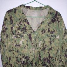 Militaria: GUERRERA PIXELADA DEL UNIFORME AOR2 DE LA NAVY EJERCITO DE LOS EEUU. Lote 194364568