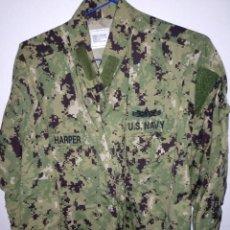 Militaria: GUERRERA DE UNIFORME PIXELADO DE LA NAVY EJERCITO DE LOS EEUU. Lote 194364800