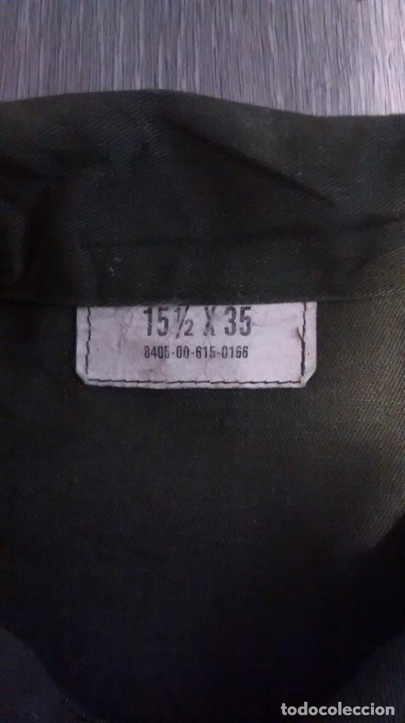 Militaria: Camisa US Vietnam OG 507 - Foto 3 - 194580500