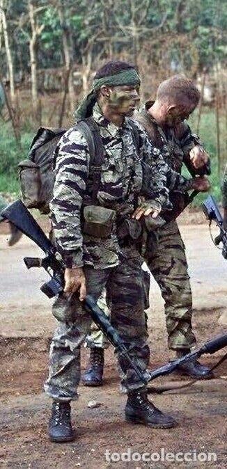 Militaria: Tiger stripes uniforme vietnam - Foto 8 - 194691271