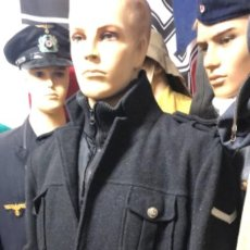 Militaria: IMPRESIONANTE CHAQUETON ALEMAN BUNDESMARINE EN LANA TALLA L EUROPEA. Lote 194755583