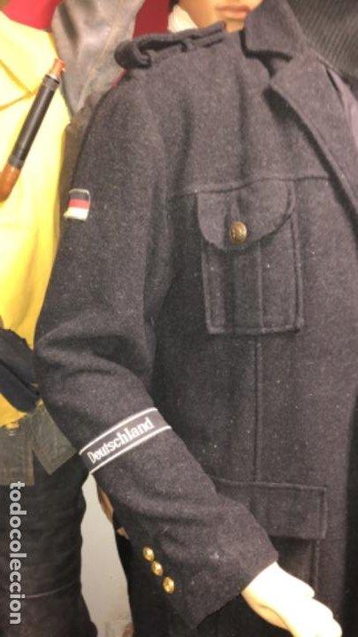 Militaria: Impresionante chaqueton aleman bundesmarine en lana Talla L europea - Foto 3 - 194755583