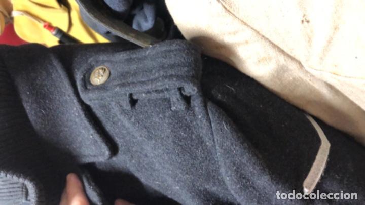Militaria: Impresionante chaqueton aleman bundesmarine en lana Talla L europea - Foto 7 - 194755583