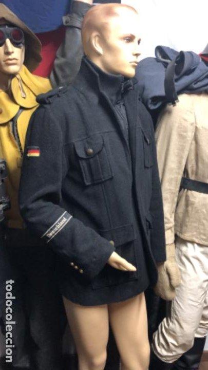 Militaria: Impresionante chaqueton aleman bundesmarine en lana Talla L europea - Foto 9 - 194755583