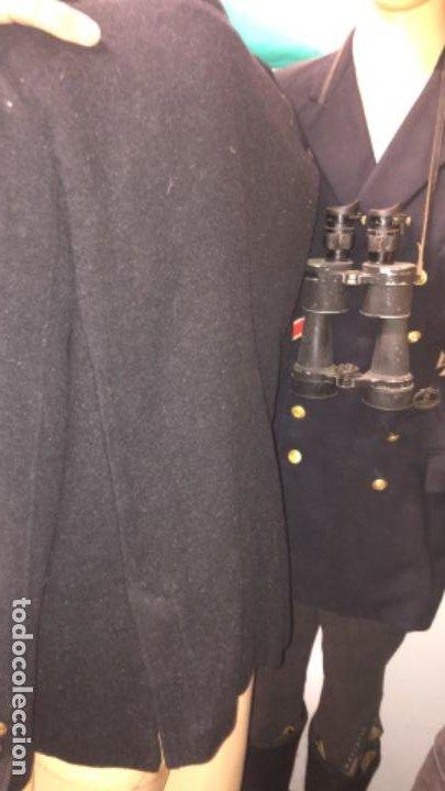 Militaria: Impresionante chaqueton aleman bundesmarine en lana Talla L europea - Foto 11 - 194755583