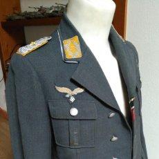 Militaria: UNIFORME ALEMAN GUERRERA LUFTWAFFE MUY CONDECORADO ORIGINAL. Lote 195036687