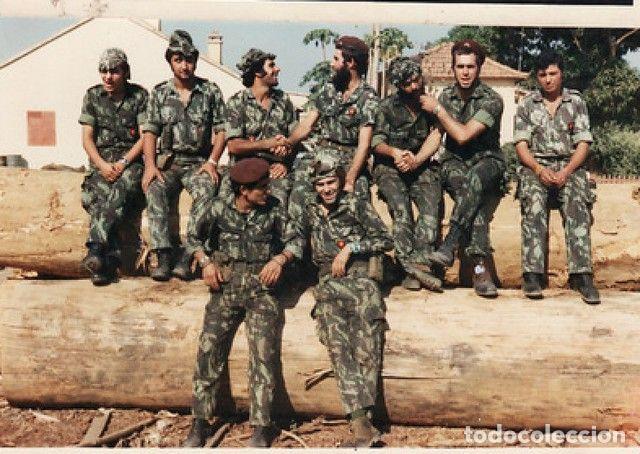 Militaria: Camisola sargento ejército portugués,guerras ultramar años 60 y 70 (Angola,Mozambique,Guinea B.) - Foto 9 - 195129988
