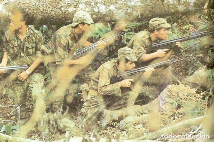 Militaria: Camisola sargento ejército portugués,guerras ultramar años 60 y 70 (Angola,Mozambique,Guinea B.) - Foto 7 - 195129988