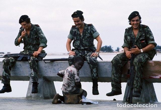 Militaria: Camisola sargento ejército portugués,guerras ultramar años 60 y 70 (Angola,Mozambique,Guinea B.) - Foto 10 - 195129988