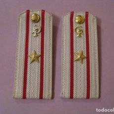 Militaria: GALONES DEL MAYOR MEDICO DEL EJERCITO SOVIÉTICO. CAMISA DE GALA.. Lote 195440100