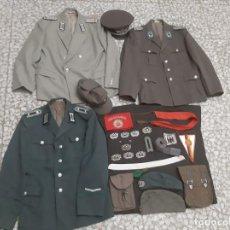 Militaria: LOTE UNIFORMES FUERZA AEREA EJERCITO POLICIA RDA DDR ALEMANIA ORIENTAL. Lote 195434728