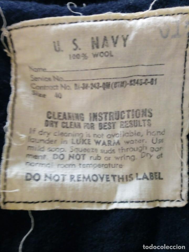 Militaria: Jersey pullover de la us navy guerra de vietnam - Foto 2 - 196491150